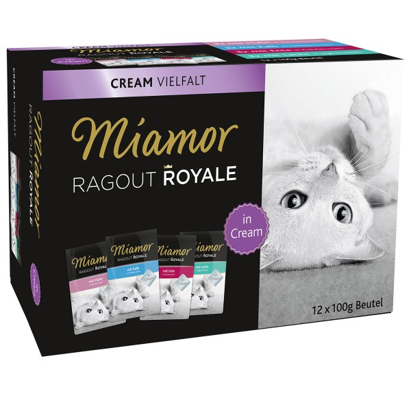 Miamor Ragout Royale Cream Vielfalt Multibox