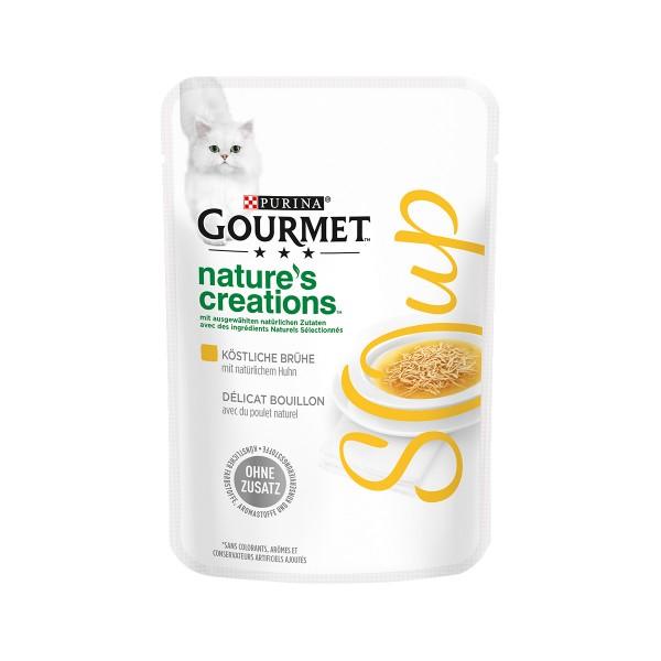 GOURMET Nature´s Creation Soup Köstliche Brühe mit naturbelassenem Huhn