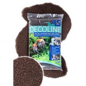 AS Decoline gravier pour aquarium marron 5 kg