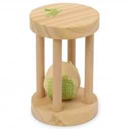 Earthy Pawz Holz Katzenspielzeug Sanduhr 7,5x7,5x12cm