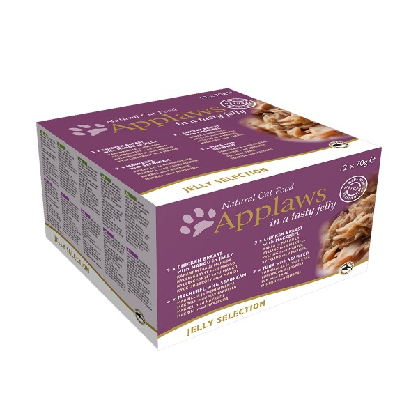 Applaws Cat Jelly Selection 12x70g