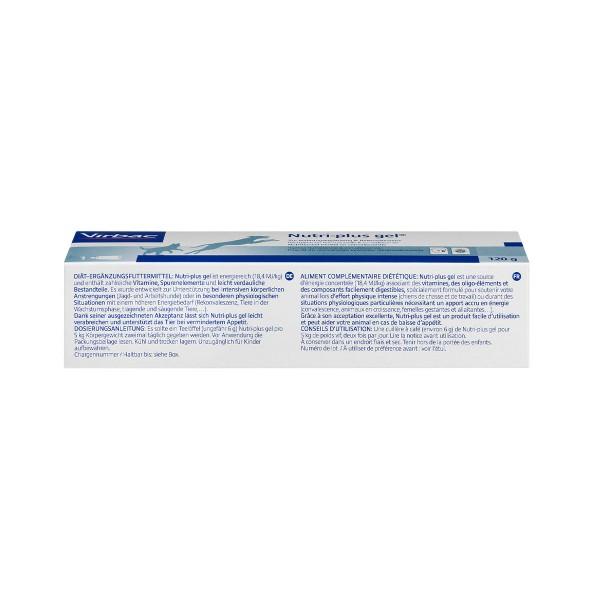 Virbac Nutri-plus Gel® zur Unterstützung der Rekonvaleszenz und Wachstum