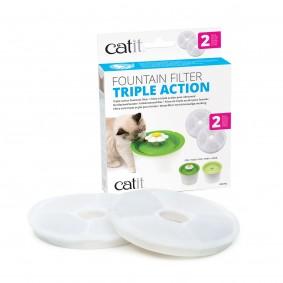 Catit 2.0 Triple Action Ersatzfilter für Blumen-Trinkbrunnen