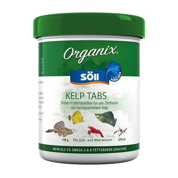 Söll Organix Kelp Tabs