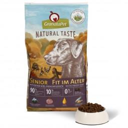GranataPet Natural Taste Senior - Fit im Alter