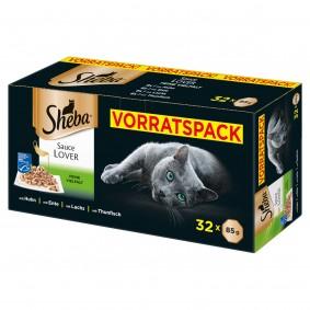 Sheba Sauce Lover Schale Multipack 32x85g