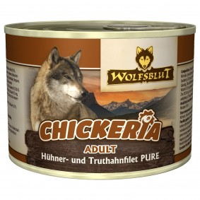 Wolfsblut Chickeria Adult Pure s kuřecím filetem a krocanem