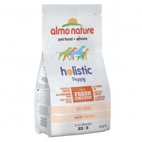 Almo Nature Holistic Small Dog Puppy mit Huhn und Reis