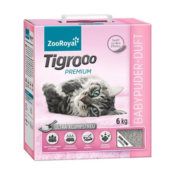 ZooRoyal Tigrooo mit Babypuderduft 6kg