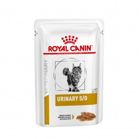 Royal Canin Vet Diet Urinary S/O Katze - Häppchen in Soße