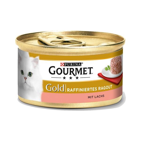 Gourmet Gold Raffiniertes Ragout Lachs - 38+10 ...