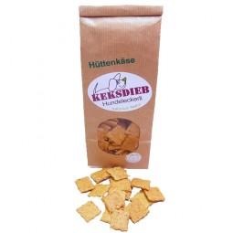 keksdieb Hundekeks Hüttenkäse-Parmesan Ecken 100g