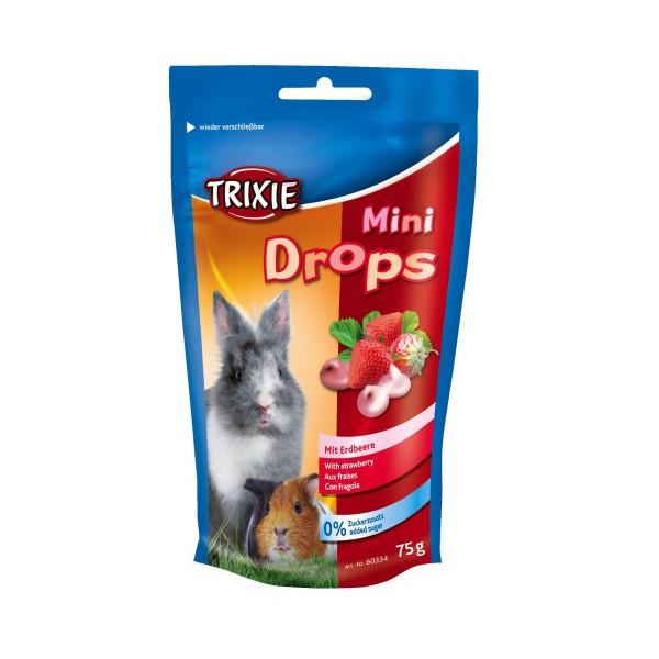 Trixie Mini Drops Kleintiersnack - Erdbeere