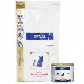 Royal Canin Vet Diet Renal RF 23 4kg + 12x195g