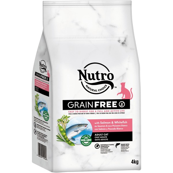 Nutro Grainfree Adult Lachs und Weißfisch