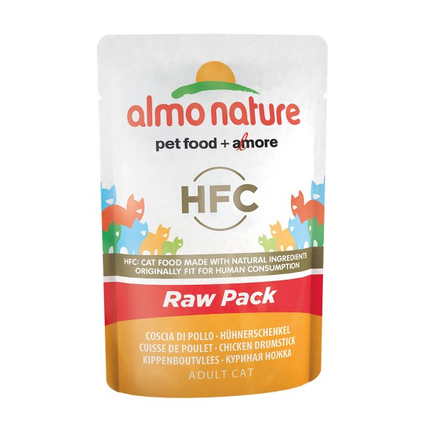 Almo Nature HFC Raw Pack Hühnerschenkel