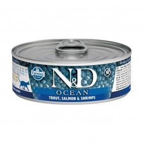 N&D Cat Ocean Forelle & Lachs & Garnelen