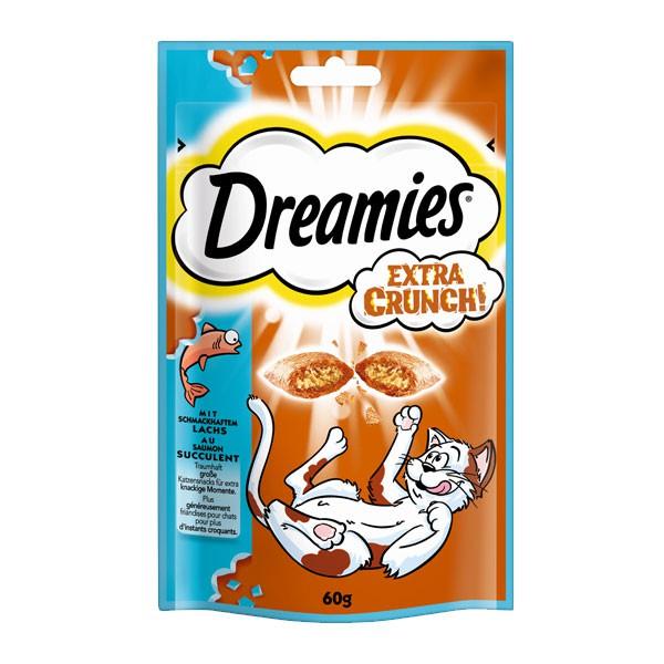 Dreamies Katzensnack Extra Crunch mit Lachs 60g