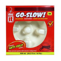 DogIt Go-Slow - Anti Schling Napf 600ml
