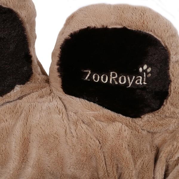 ZooRoyal Kuschelbett Loki beige/braun