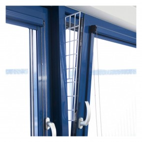 Trixie Schutzgitter für Fenster Seitenteil 62x16/7cm weiß