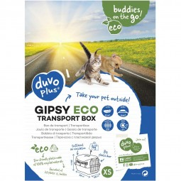 DUVO+ Gipsy eco Transportbox grün