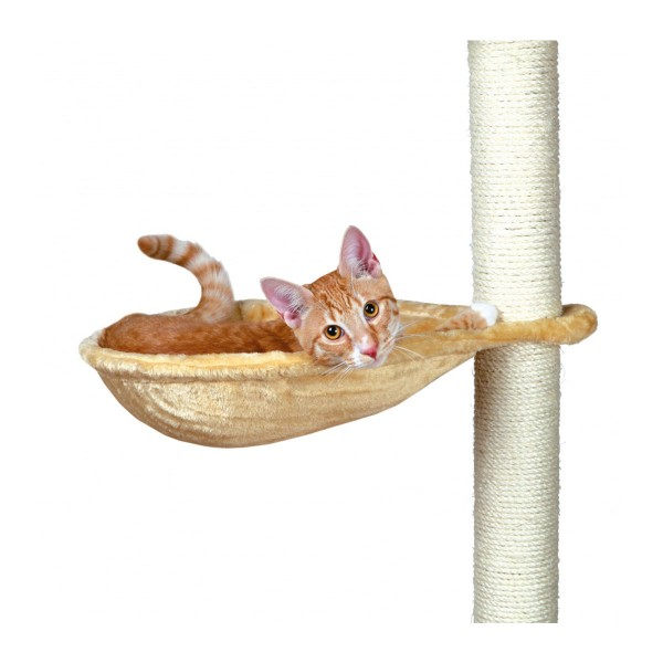 Trixie Couchette pour arbre à chat ø 40 cm - beige