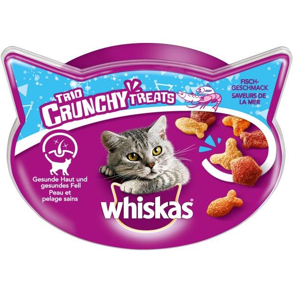 Whiskas Katzensnack Trio Crunchy mit Fisch 55g