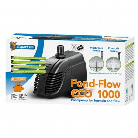 SuperFish Pond-Flow multifunktionelle Teichpumpe ECO 12W-95Watt