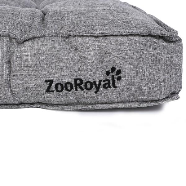 ZooRoyal Hundekissen Enno grau