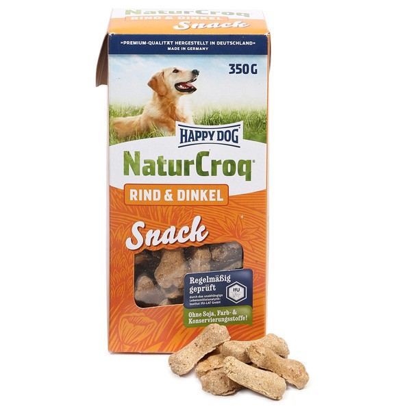 Happy Dog NaturCroq Snack Ring & Dinkel