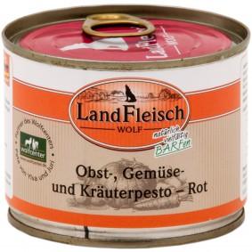 Landfleisch Dog Wolf Pesto Rot