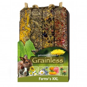 JR Farm Nagersnack Grainless Farmys XXL 4er-Pack 450g