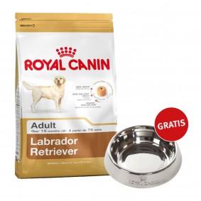 Royal Canin Labrador Retriever Adult 12kg + Edelstahlnapf silber gratis