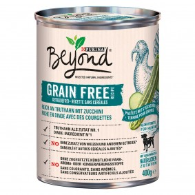 Purina BEYOND® Getreidefrei reich an Truthahn mit Zucchini, Pastete mit Stückchen