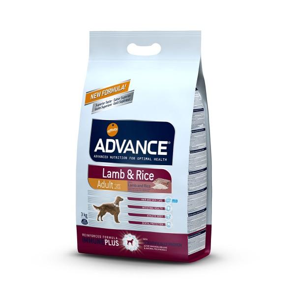 Advance Hundefutter Lamm und Reis - 3kg