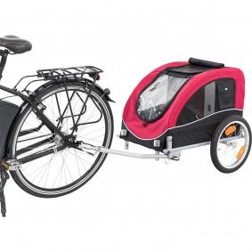 Trixie vozík za kolo, 63 x 68 x 75 (137) cm