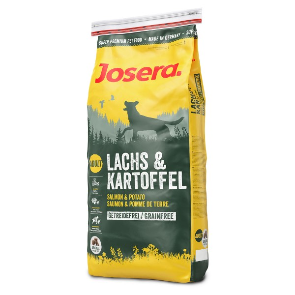 Josera Hundefutter Lachs und Kartoffel