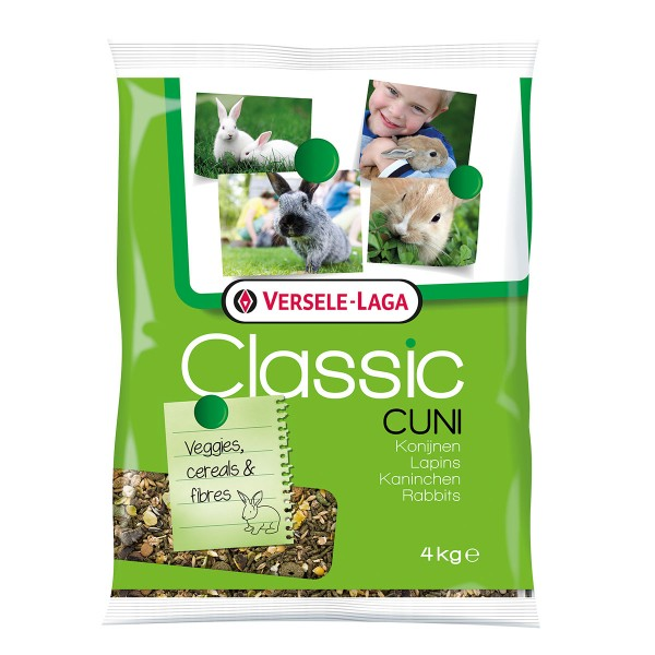 Versele Laga Kaninchenfutter Cuni Classic 4kg