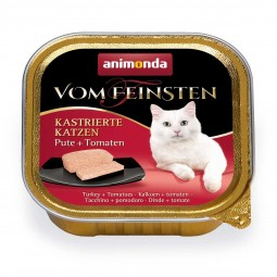 Animonda Vom Feinsten für kastrierte Katzen Pute und Tomate