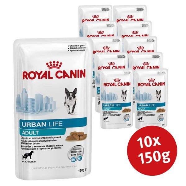 Royal Canin Hundefutter Urban Adult Dog 10x150g