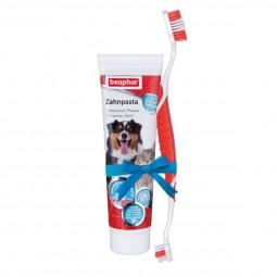 beaphar Zahnpflege Set (Zahnpasta & Bürste)