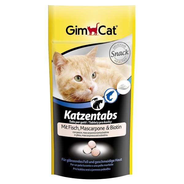 GimCat Katzentabs Fisch & Mascarpone 40g