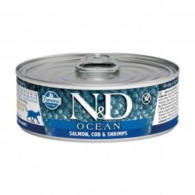 N&D Cat Ocean Lachs & Kabeljau & Garnelen