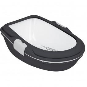 Trixie Berto XL mit Trennsystem anthrazit/weiß