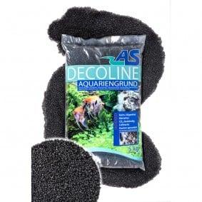 AS Decoline gravier pour aquarium noir 5 kg