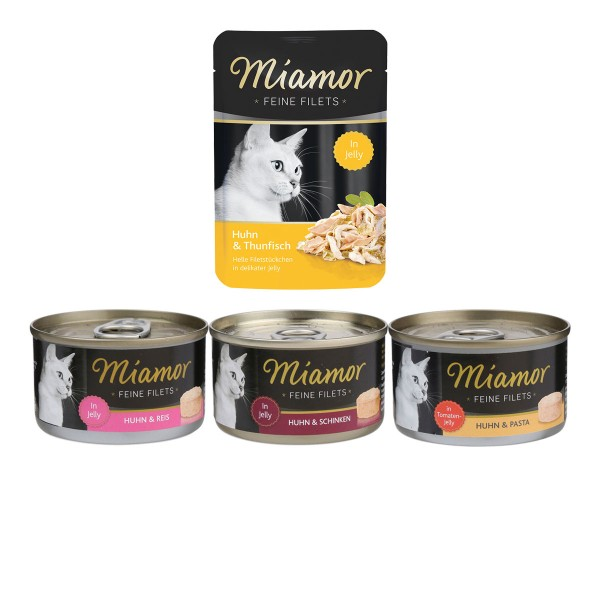Miamor Feine Filets 96x100g Mixpaket