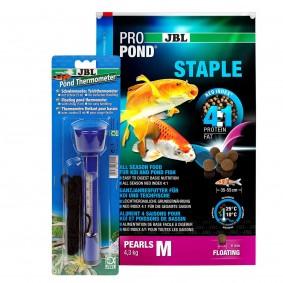 JBL ProPond Staple M 4,3kg + Thermometer Gratis
