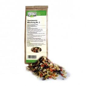 Grau BARF Gemüsemix Mischung Nr.2 150g