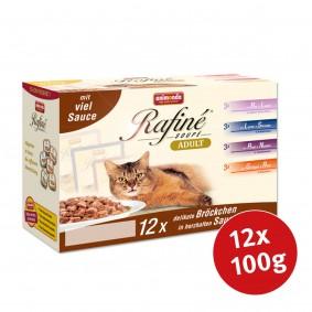 Animonda Katzenfutter Rafiné Soupé Multipack No.3 12x100g
